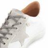 Sapatilhas RUIKA Pele Branco Prata 35/4952
