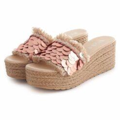 Sandals RUIKA Lantejola Peach 63/1673