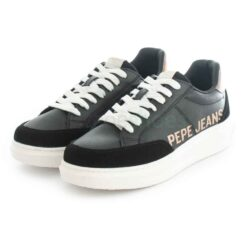 Tenis PEPE JEANS Abbey Willy Black PLS31196 999
