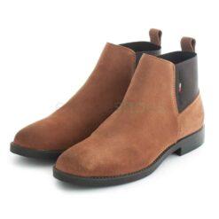 Boots TOMMY HILFIGER Essentials Chelsea Boot Winter Cognac