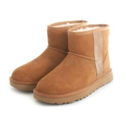 Boots UGG AUSTRALIA Classic Mini Side Logo Chestnut 1122558