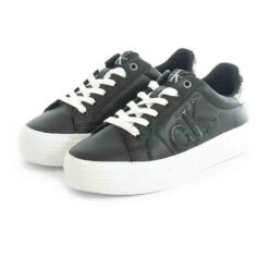 Tenis CALVIN KLEIN Vulcanized Flatform Sneaker Black